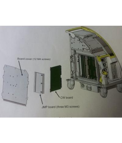 Modulo CW Cardiologico per Ecografo Hitachi Preirus Codice EZU-ST8 –  9718030250